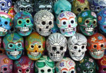 Фестиваль для живых и мертвых в Мексике