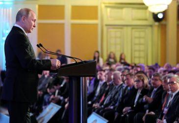 Путин призвал бизнесменов вкладывать в нацпроекты