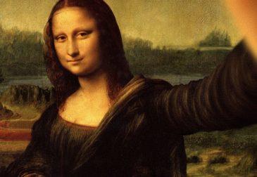 Персонажи знаменитых картин, делающие селфи