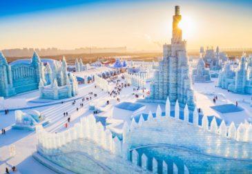 Самый масштабный в мире фестиваль ледяных скульптур