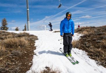 Глобальное потепление угрожает лыжному спорту на Западе