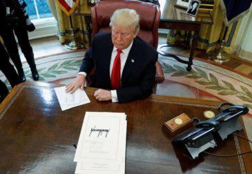 Трамп признал Голаны территорией Израиля