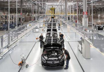 Открылся первый в России завод Mercedes