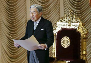 Император Японии добровольно отрекается от престола