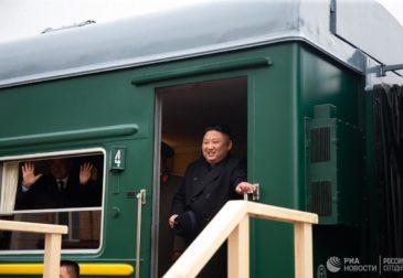 Ким Чен Ын впервые прибыл в Россию
