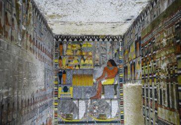 В Египте открыта отлично сохранившаяся гробница, возраст которой составляет около 4000 лет