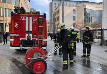 В Москве на Белорусской произошел пожар в метро