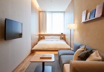 Японский бренд Muji открыл минималистичный, но невероятно комфортный отель в центре Токио