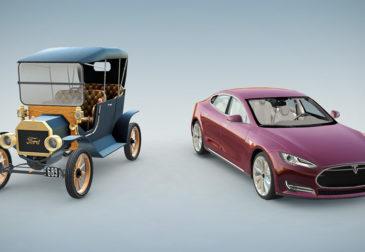Сто лет эволюции автомобилей