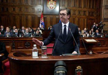 Вучич признал потерю Косово