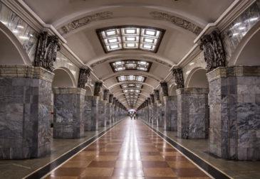 Самые красивые и необычные станции московского метро