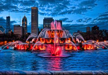 Самые необычные и красивые фонтаны