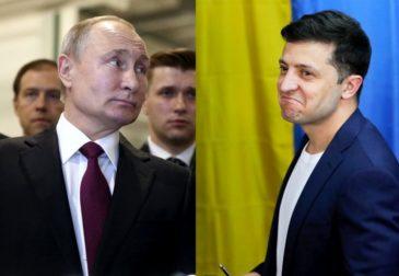 Первый разговор Путина и Зеленского состоялся