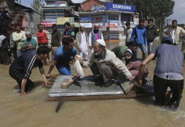 Наводнение в Южной Азии: более 6 миллионов пострадали