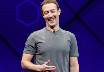 Несмотря на скандал с российским вмешательством, акции Facebook выросли на 56%
