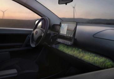Немцы представили интерьер своего электромобиля на солнечной энергии