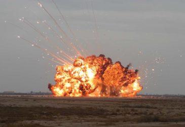 Взрывы на складе боеприпасов: эвакуируют 11 тыс. жителей Красноярского края