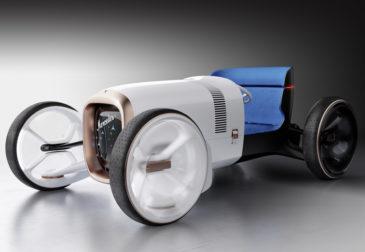 Футуристичный концепт Vision Simplex от Mercedes-Benz