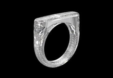 Кольцо из цельного бриллианта от Jony Ive и Marc Newson