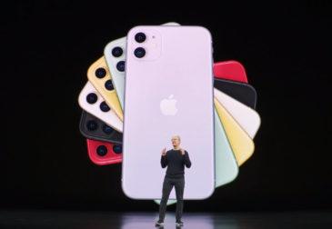 Apple презентовала три новых iPhone