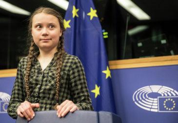 Глобальная климатическая забастовка Греты Тунберг