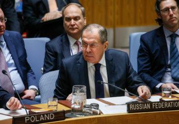 США не пустили российскую делегацию в ООН