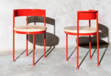Смелые формы и сочные оттенки уличной мебели от Kresta Design
