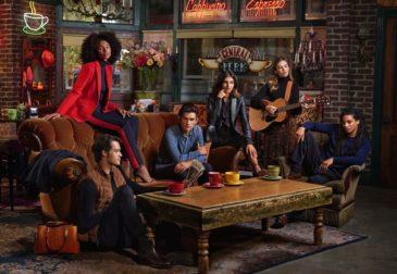 Коллаборация Ralph Lauren и Warner Bros. к юбилею сериала «Друзья»