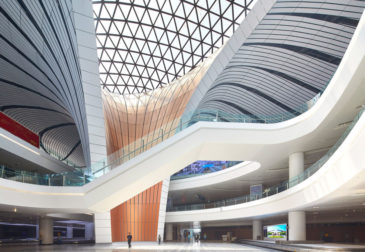 В Китае открылся крупнейший в мире аэропорт Дасин