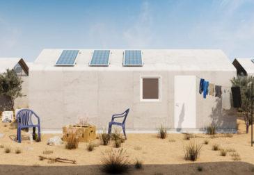 Современные дома для беженцев
