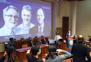 Нобелевская премия в области медицины присуждается трем ученым за исследования клеток