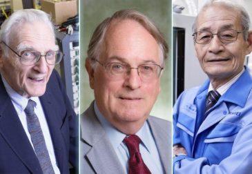 Три ученых получили Нобелевскую премию по химии за литий-ионный аккумулятор