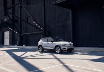 Volvo презентовала свой электромобиль XC40 Recharge