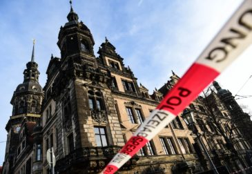 Ограбление  на миллиард. Злоумышленники похитили драгоценности из Дрезденского музея