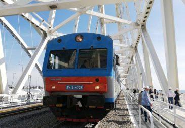 Старт продаж: по Крымскому мосту можно проехать на поезде