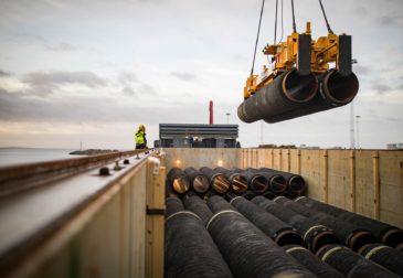 Дания разрешила строительство «Северного потока–2» в своих водах