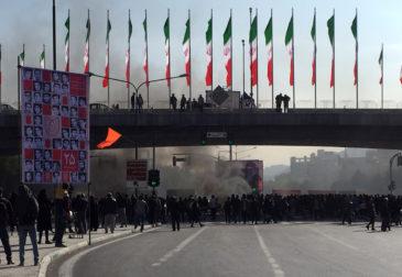 Повышение цен на газ в Иране вызвало множество массовых беспорядков