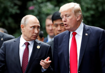 Внешняя политика Трампа выгодна Путину?