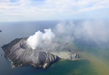 Трагедия на острове Уайт-Айленд. Извержение вулкана в Новой Зеландии