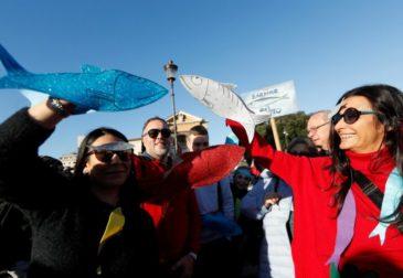 «Сардины» против Сальвини: массовые протесты в Италии