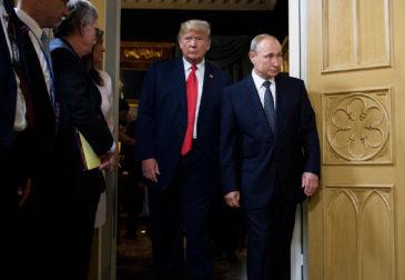 Путин поблагодарил Трампа за помощь в предотвращении терактов