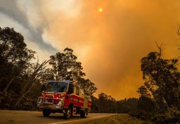 Рекордно высокие температуры в Австралии