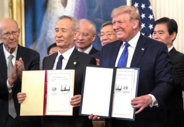 """""""Величайшая в истории"""": Китай и США заключили сделку"""