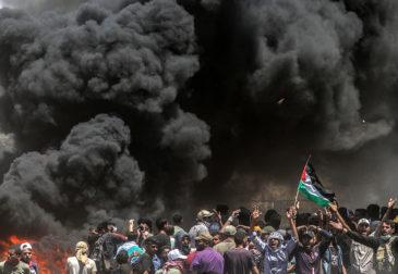 "Палестинцы массово протестуют против Трампа: ""сделка века"" им не по душе"