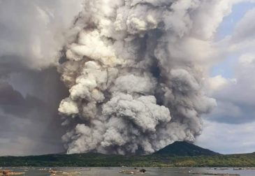 Вулканическая активность на Филиппинах доходит до критической отметки