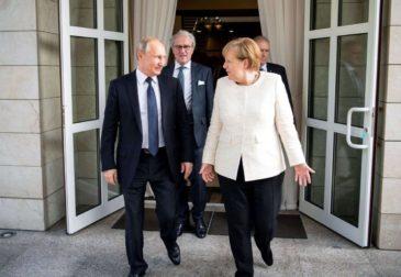 Ангела Меркель в Кремле