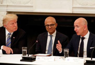 Миллиардный контракт Microsoft с Пентагоном приостановлен