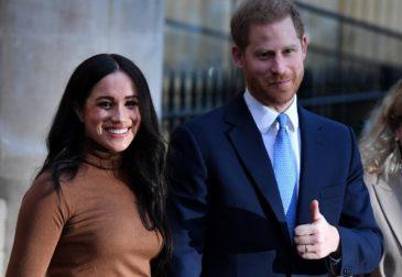 Гарри и Меган раскрыли дату выхода из королевской семьи