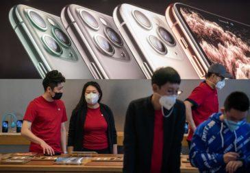 Доходы Apple сокращаются из-за коронавируса