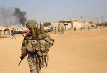 Массированное наступление: Турция нанесла удар по Сирии